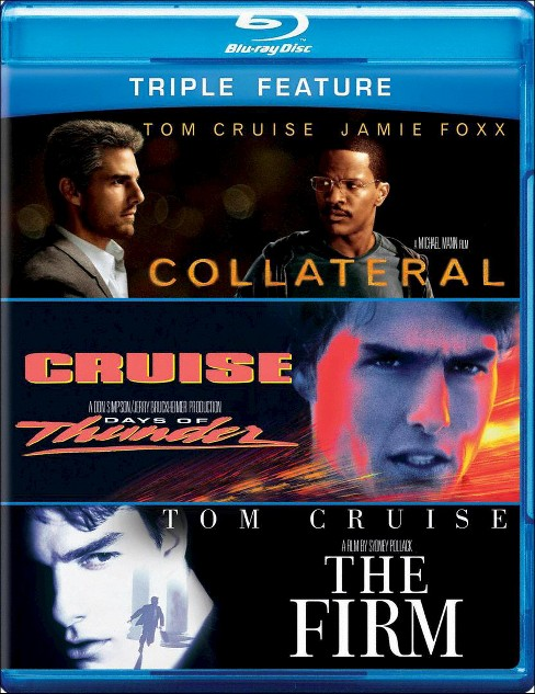 Collateral/Days of Thunder/The Firm (3 Discs) (Blu-ray) - image 1 of 1