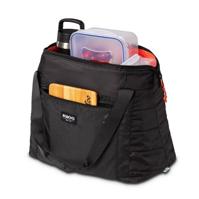 Igloo Packable Puffer 15.25qt Cooler Bag - Black