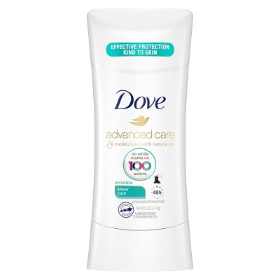 Dove Advanced Care Sheer Cool 48-Hour Invisible Antiperspirant & Deodorant - 2.6oz