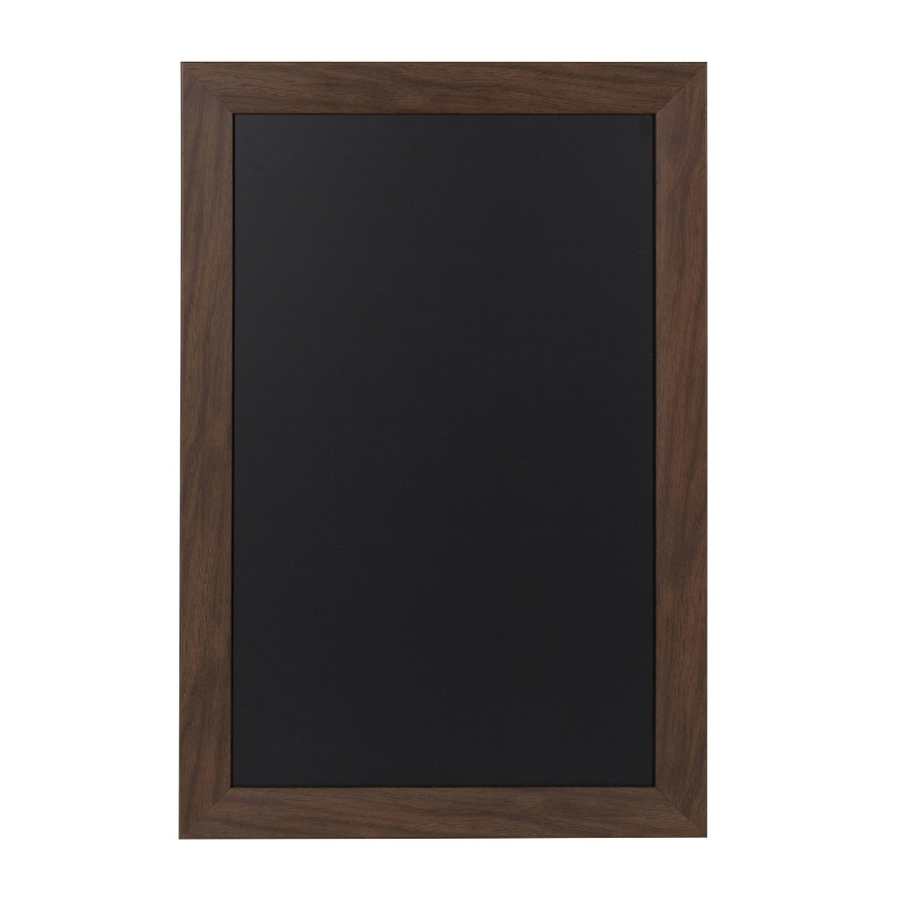 "Image of ""15"""" x 24"""" Beatrice Chalkboard Walnut - DesignOvation, Brown"""
