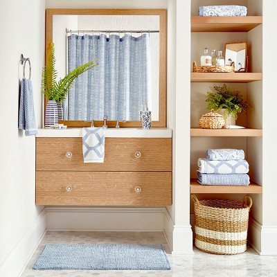 Classic Blue & Chambray Bathroom Collection
