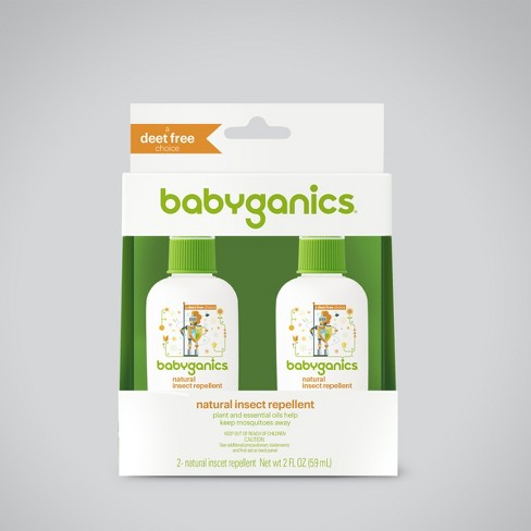 Babyganics 2pk 2oz Bug Spray - image 1 of 1