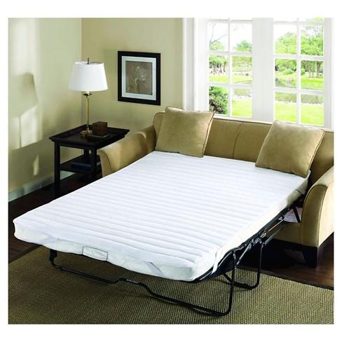 Pleasant Delta Waterproof Quilted Microfiber Sofa Bed Set 60X72 White Machost Co Dining Chair Design Ideas Machostcouk