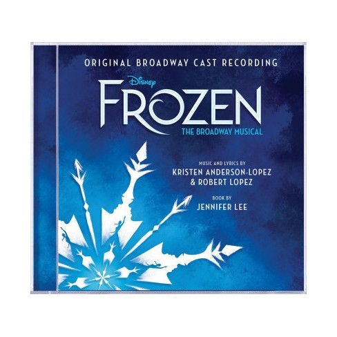 frozen broadway cast
