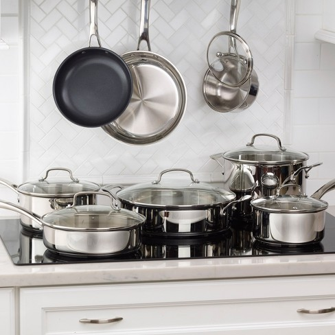 Cuisinart 14pc Stainless Steel Cookware Set - 83-14 - image 1 of 3