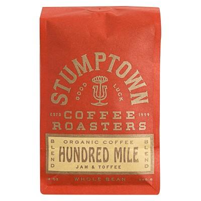 Stumptown Hundred Mile Espresso Roast Whole Bean Light Roast Coffee - 12oz