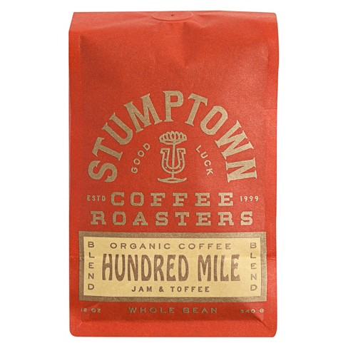 Stumptown Hundred Mile Espresso Roast Whole Bean Light Roast Coffee - 12oz - image 1 of 3