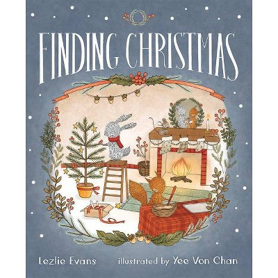 Finding Christmas - by Lezlie Evans (Hardcover)