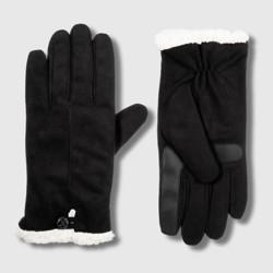Isotoner Women's SmartDri Microfiber Glove with SmartTouch Technology