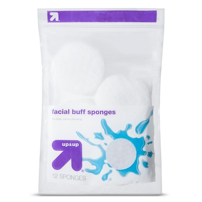 Facial Buff Sponges - 12ct - up & up™