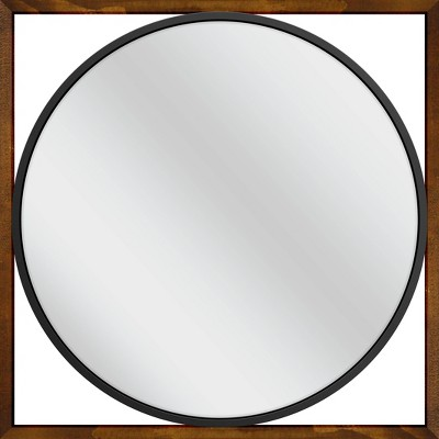 "28.5"" x 28.5"" Edith Decorative Wall Mirror - PTM Images"