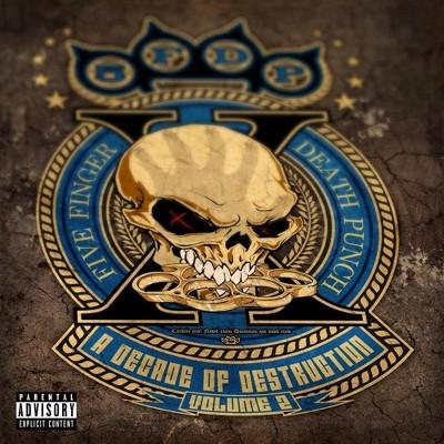Five Finger Death Punch - A Decade Of Destruction, Vol. 2 [Explicit Lyrics] (CD)