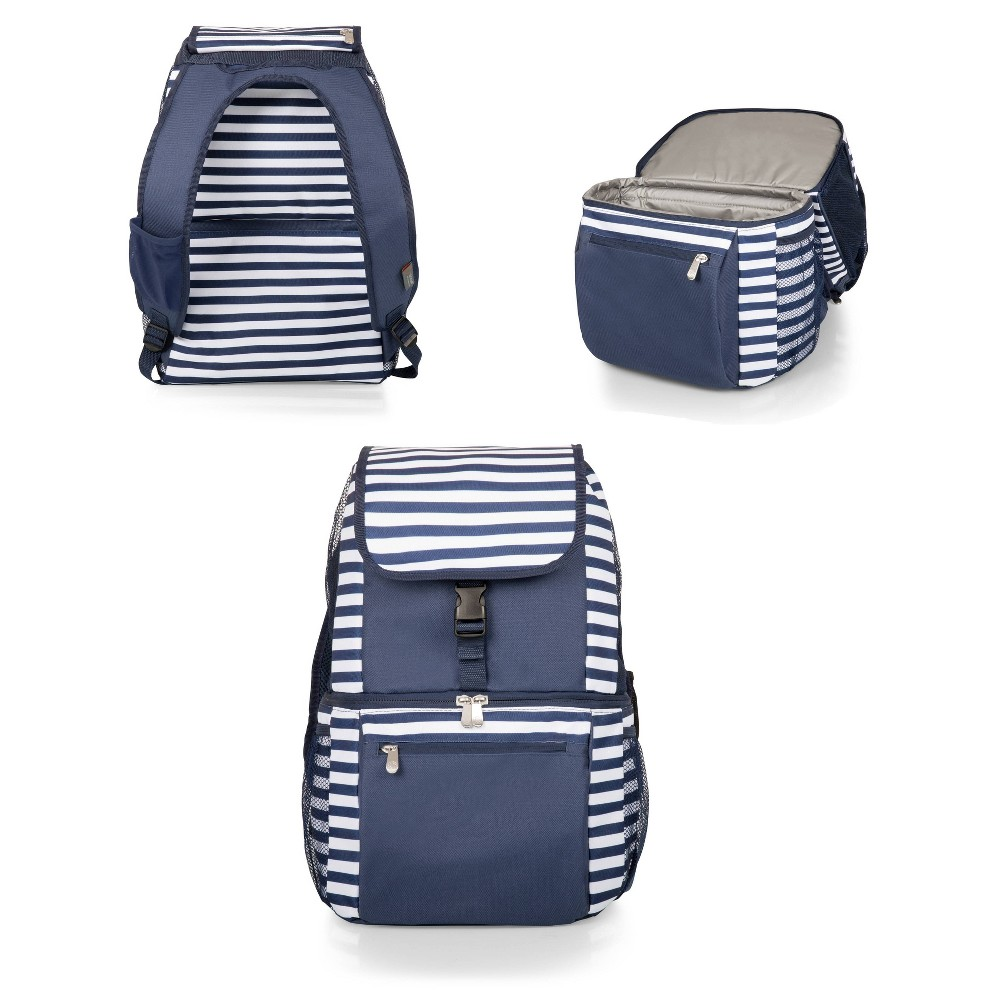 Image of Picnic Time Portable Cooler - Navy, Blue