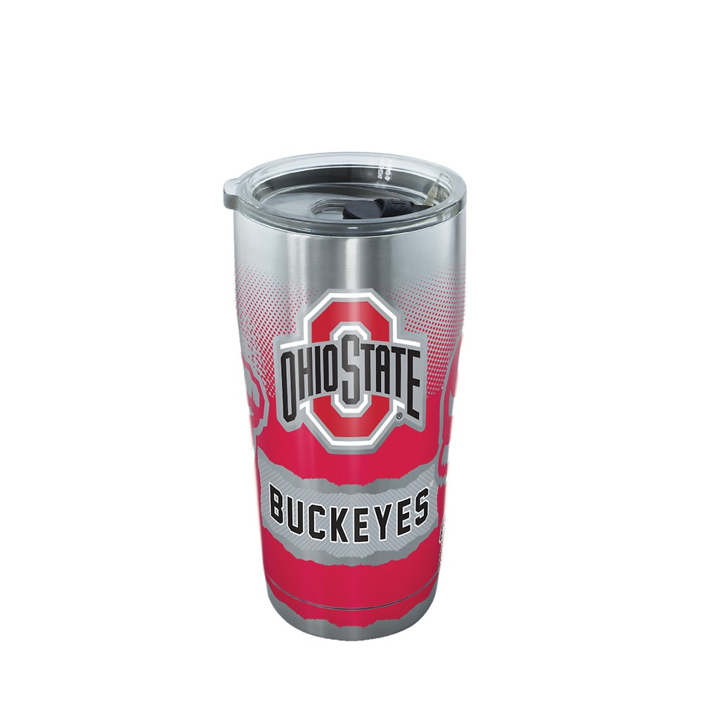 Tervis Ohio State Buckeyes Knockout 20oz Stainless Steel Tumbler with lid