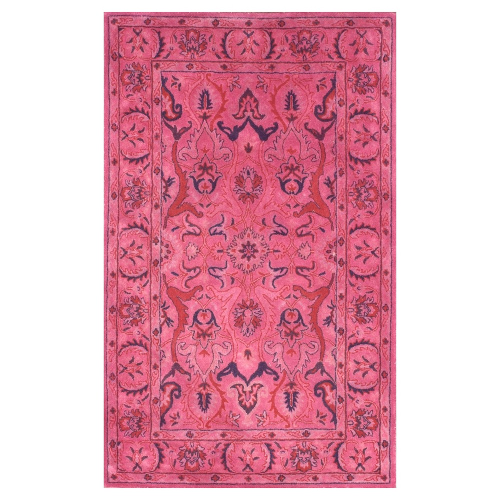 Pink Classic Tufted Area Rug - (5'x8') - nuLOOM