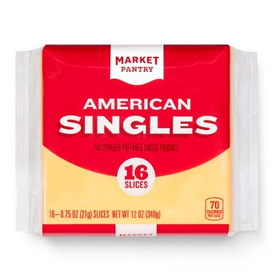 American Cheese Singles - 16ct - Market Pantry™