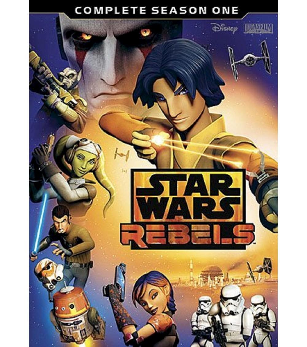 Star Wars Rebels: Complete Season 1 (3 Discs) (dvd_video)