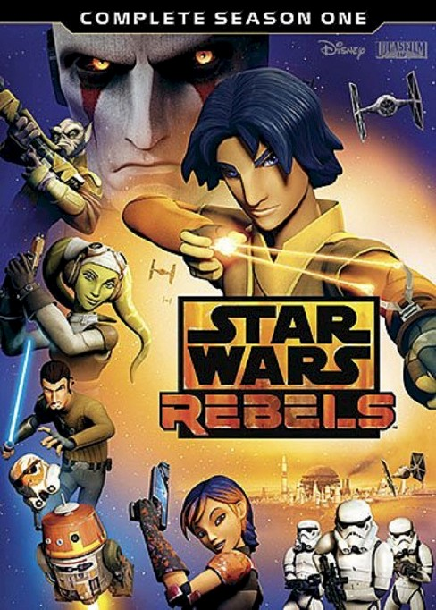 Star Wars Rebels: Complete Season 1 (3 Discs) (dvd_video) - image 1 of 1