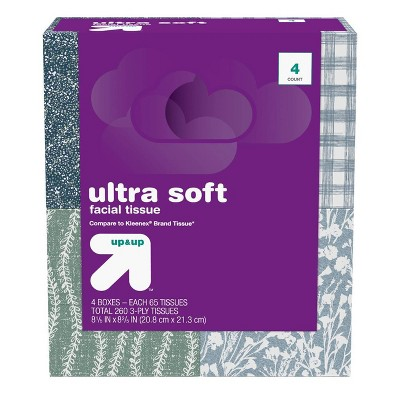 Ultra Soft Facial Tissue - up & up™