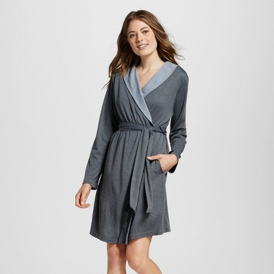 Women's Mid-Weight Robe - Gilligan & O'Malley™ - Heather Gray XS/S