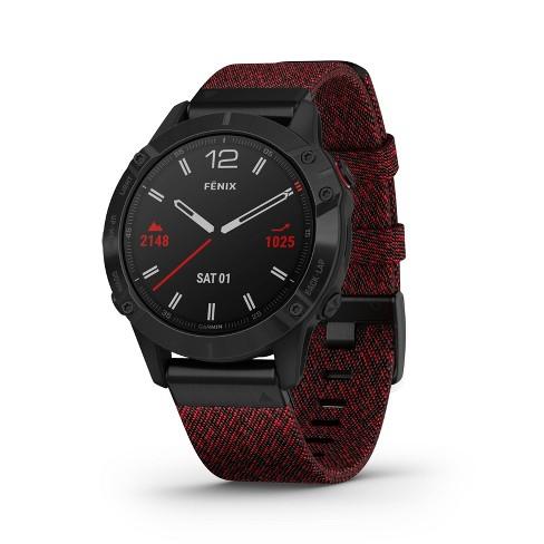 Garmin Fenix 6 Sapphire Smartwatch - image 1 of 4