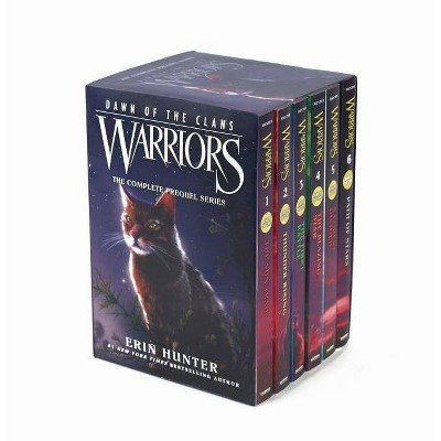 Warriors: Dawn of the Clans Set - by  Erin Hunter (Paperback)