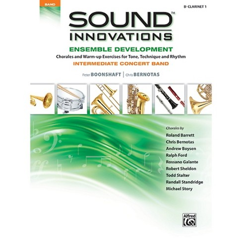 Alfred Sound Innovations Concert Band Ensemble Development B Flat Clarinet 1 Book - image 1 of 1