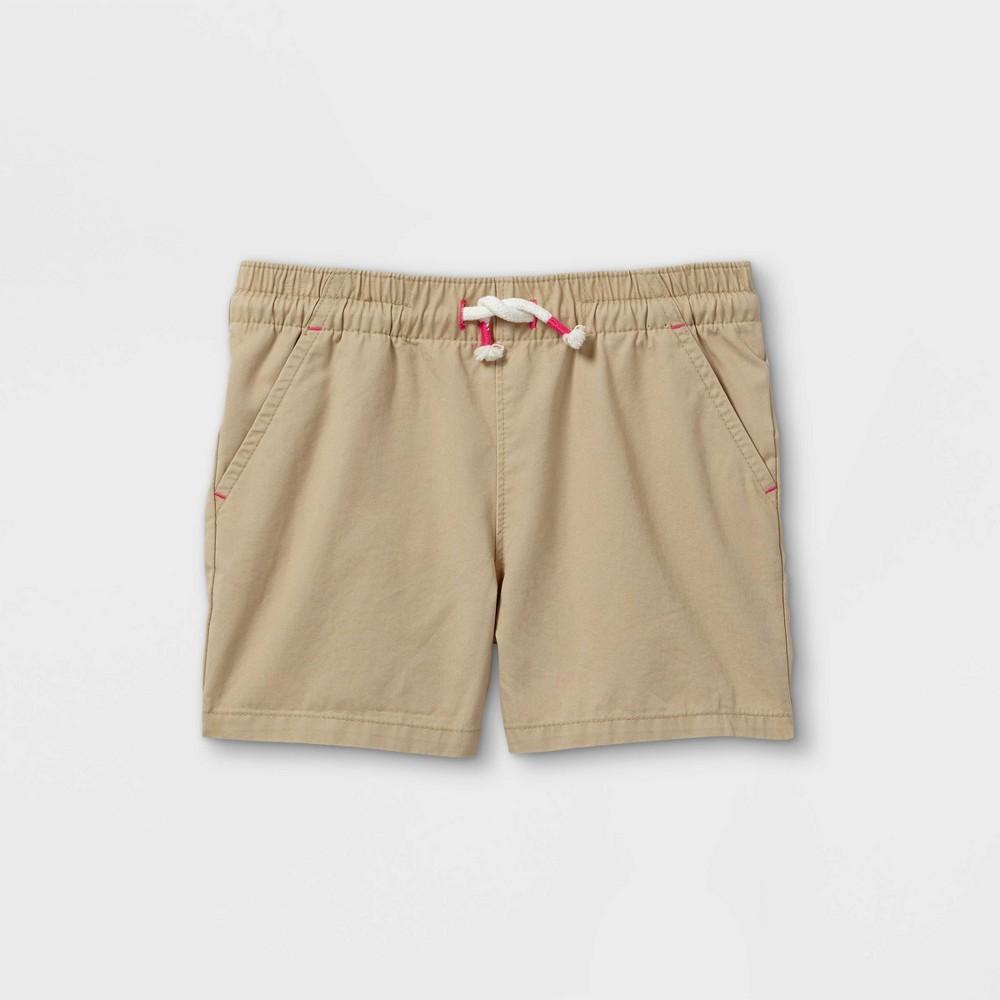 Toddler Girls 39 Woven Pull On Shorts Cat 38 Jack 8482 Khaki 2t