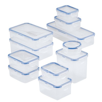 LocknLock Easy Essentials Assorted Storage Container Set - 22 Piece