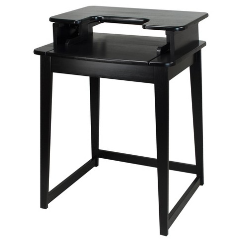 Stand Up Desk >> Stand Up Desk With Legs Black Flora Home