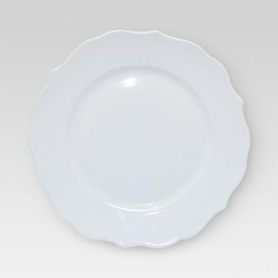 Porcelain Dinner Plate 11  White - Threshold™