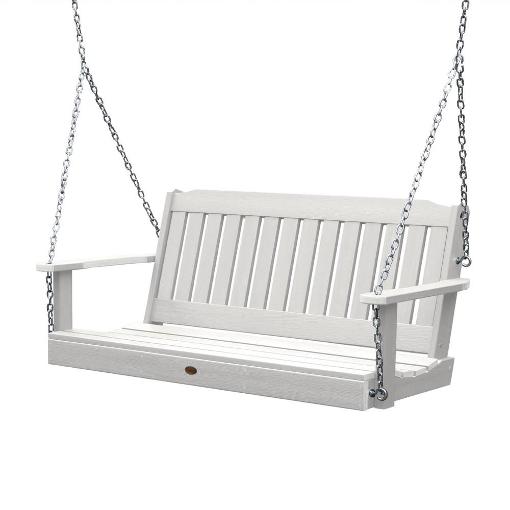 Lehigh Porch Swing 5ft White - Highwood