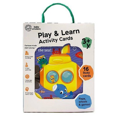 Play & Learn Activity Cards - (Baby Einstein) by  Scarlett Wing (Board Book)