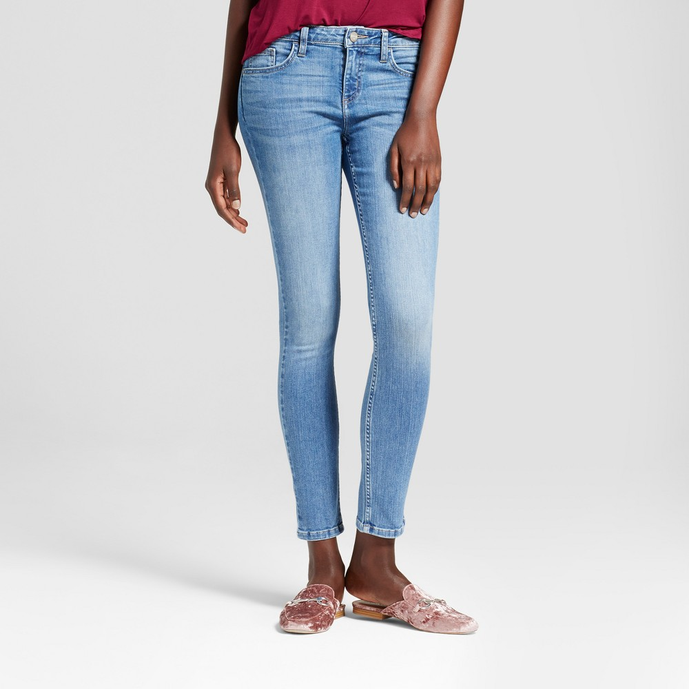Women's Modern Fit Skinny Jeans - Crafted by Lee Light Denim 4