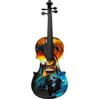 Rozanna's Violins Dragon Spirit Violin Outfit 4/4