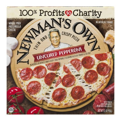 Newman's Own All Natural Thin & Crispy Uncured Pepperoni Frozen Pizza - 15.1oz