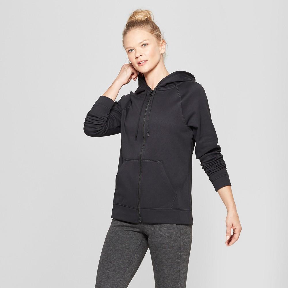Women's Tech Fleece Full Zip Sweatshirt - C9 Champion Black M