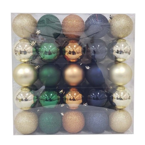 50ct 70mm Christmas Ornament Set - Wondershop™ - image 1 of 2