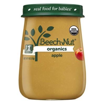 Beech-Nut Organics Apples Baby Food Jar - 4oz