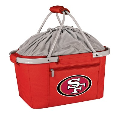 Picnic Time NFL Team Metro Basket Collapsible Tote - Red