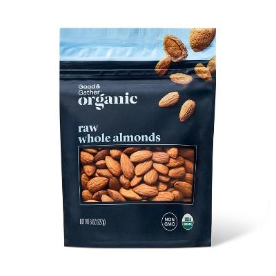 Organic Raw Whole Almonds - 8oz - Good & Gather™
