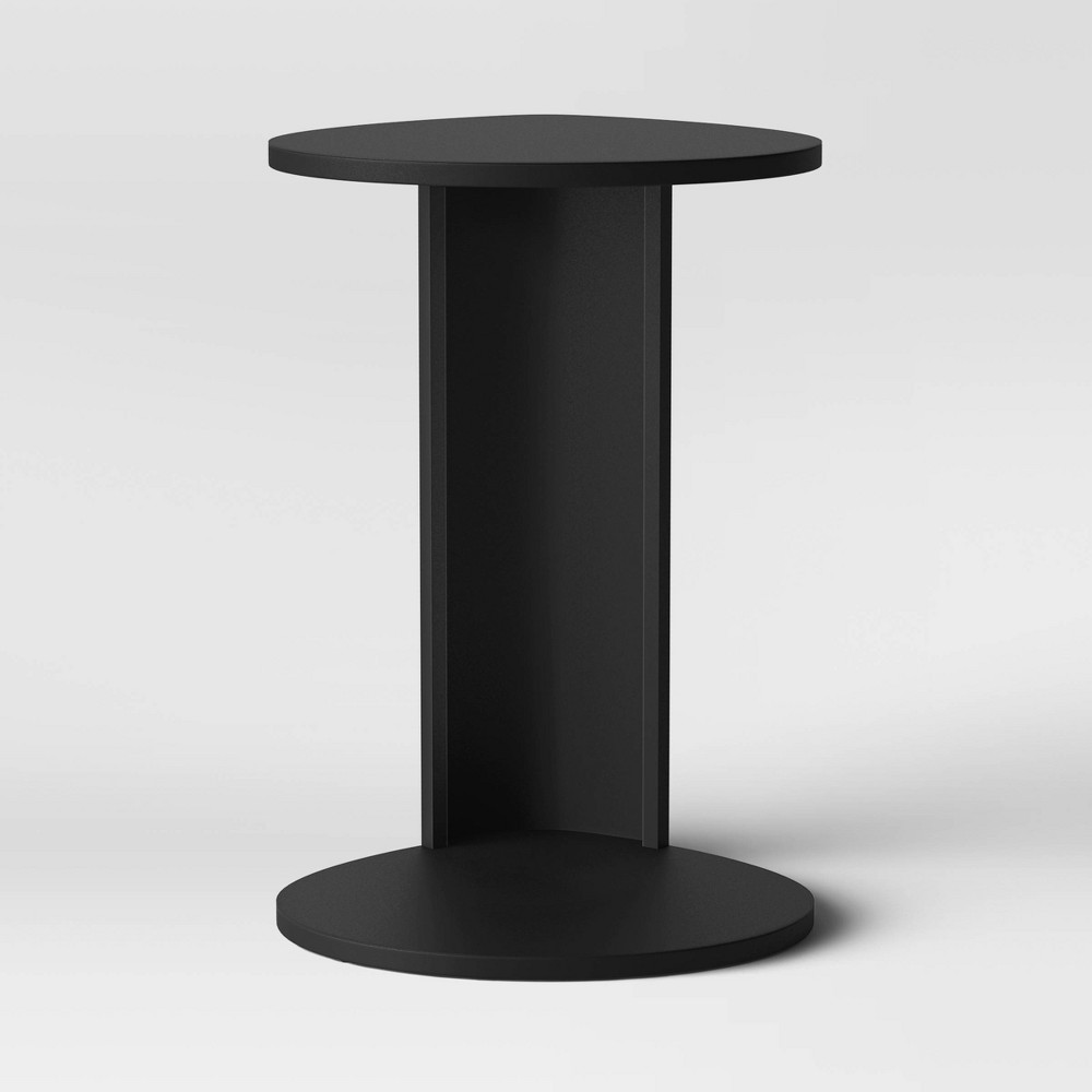 Image of Edvin Round Metal C Table Black - Project 62