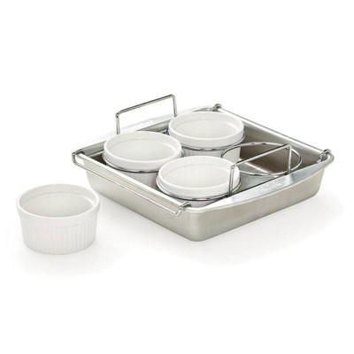 Chicago Metallic 6pc Creme Brulee Set