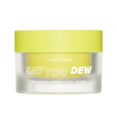 I DEW CARE Say You Dew Moisturizing Vitamin C Gel and Cream - 1.69 fl oz