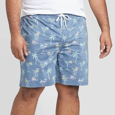 "Men's Big & Tall 7"" Cocktail Hour Swim Trunks - Goodfellow & Co™ Deep Navy 5XB"