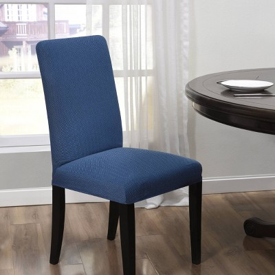 Santa Barbara Dining Room Chair Slipcover Blue - Kathy Ireland