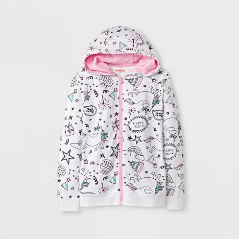 8f7134da1 Girls' Unicorn Sweatshirt - Cat & Jack™ White : Target