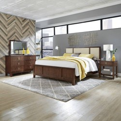 Bungalow Bedroom Set Medium Brown - Home Style