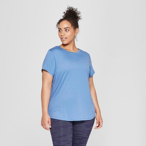 f6dea7c1dbb89 Women s Plus Size Semi-Fitted Soft T-Shirt - C9...   Target