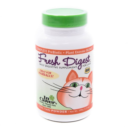 In Clover Fresh Digest Daily Digestive Aid Powder For Cats - 3.5oz - image 1 of 4